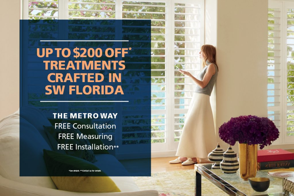 Save up to $200 off* treatments crafted in Southwest Florida