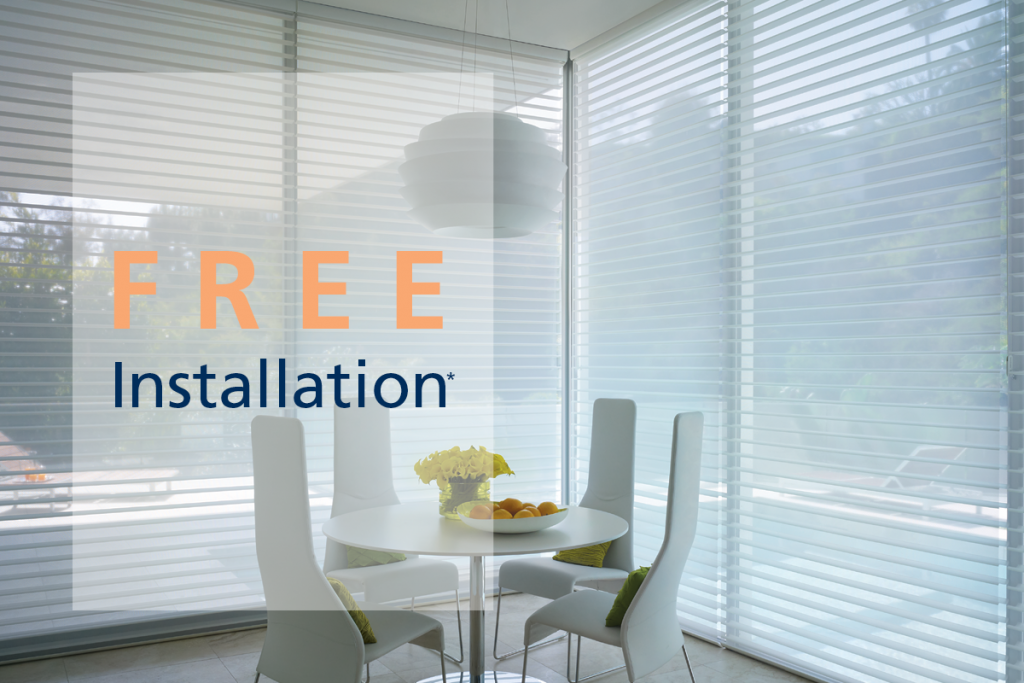 Free Installation*
